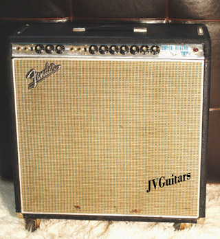 1969 Fender Super Reverb Amp first of the silver faced panels released and is the same as black face AB763 ..... WoW This is the TONE!...$1,899.00