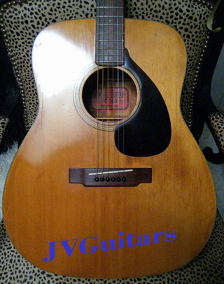 69 Yamaha FG140 Acoustic Guitar Red Lable Nippon Gakki Made in Japan $Ask