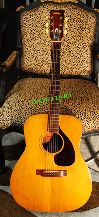 74 Yamaha FG140 Red Lable Nipon Gakki Made in Japan vintage Acoustic guitar .. $599.00