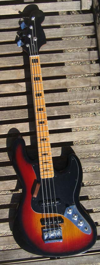 73 Jazz Bass Made in Japan Quality No Name $419.00