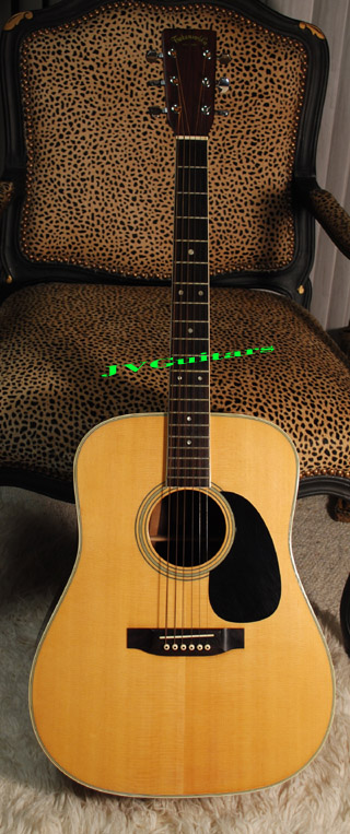 1974 Takamine  F375S  High End Japanese  Dred Rare Exotic Brazilian Rosewood  very very nice, This is the ONE!..... SOLD OUT!