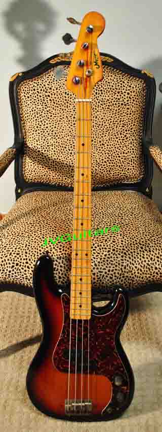 1977 Memphis Pro IV Precission Bass guitar 57 Reissue style Made in Japan  same as Aria Pro built in Matsumoku Factory Japan  Lawsuit copy made just like ...$485