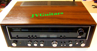 1977 SANSUI  890 Stereo Receiver this is the very Rare BLACK FACE High Powered Monster that is Strikingly Beautiful .... fully serviced and is a warm tube-like sound that is simply AMAZING ... $799