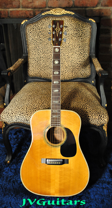 1979 Alvarez 5053 Martin D-45 copy Exotic Brazilian Jacaranda Rosewood  RARE and is a Stunning example for your consideration