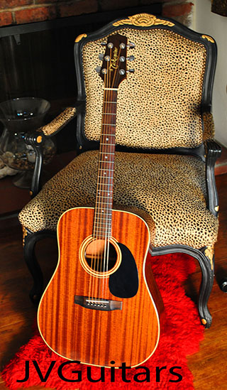 1990 Takamine F349 Drednought acoustic w- Piezo Transducer electric guitar 24 years old Vintage and in excellent condition.... $679.00