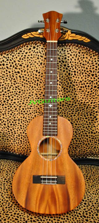 2012  Tenor Ukelele  SOLID Hawaiian KOA wood beautiful hand crafted workmanship sweet Ukelele tone MahaloBra.... $329.00