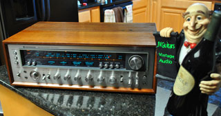 70s KENWOOD 11 III Monster Receiver 40+ years old excllent vintage condition fully professionally serviced ....$495.00