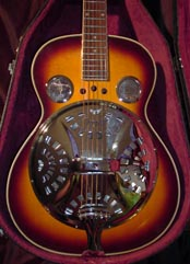 90s Regal Dobro wood body Resonator guitar $ 399.00