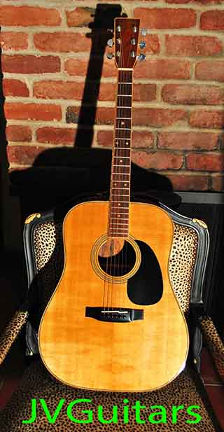 1983 Takamine F375SW WoW! talk about RARE Beauty this is top of the line D-35 Brazilian Jacaranda Rosewood SWEET condition LOW Action