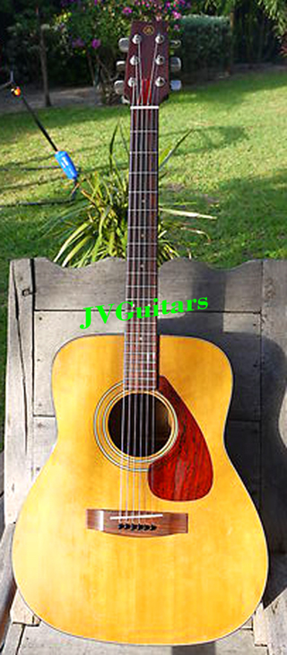 73 Yamaha FG 200 Nippon Gakki Crafted in Japan this is an excellent well aged Booming machine Martin Bone nut & saddle & full set up New Strings and ready for another 40 years WoW! only...