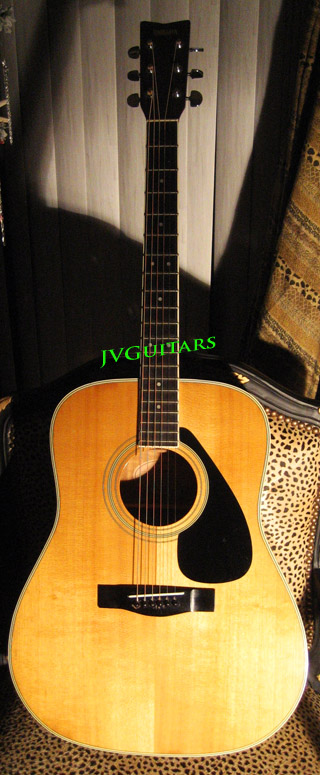 Yamaha FG 200 Vintage Nippon Gakki Japanese Acoustic tan lable beauty